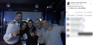 Publicación de Facebook en la que Javi Téllez ya bromeaba en 2018 con sacar juntos una chirigota.